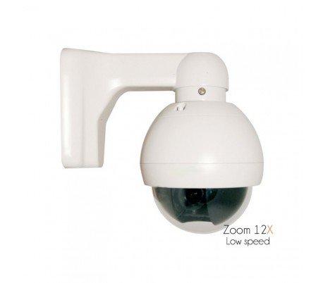 Sony CCD–Telecamera motorizzata esterna, zoom ottico di 5a 60mm, Sensore Sony 700linee–dom-s350