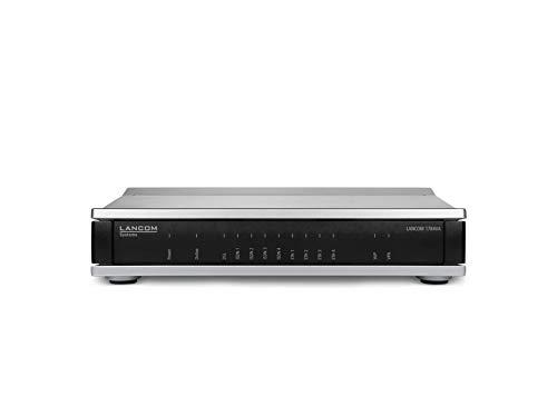 LANCOM 1784VA (All-IP, EU, over ISDN), VPN-Router, VDSL2/ADSL2+-Modem, ISDN-VoIP-Wandlung, 4x ISDN (2x NT & 2x TE/NT), 4x GE