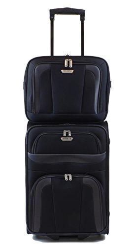 Borsello da bagaglio +/compagno Nero Serie Orlando di Travelite