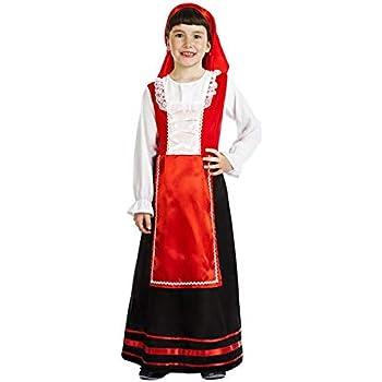 Disfraz de Pastora Labriega para niña: Amazon.es: Juguetes y juegos