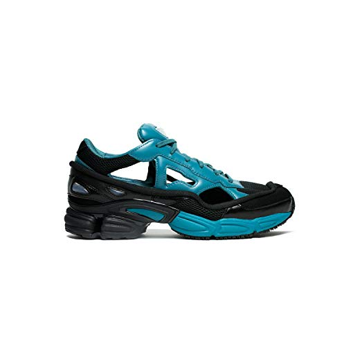 adidas by RAF Simons Men's RAF Simons Replicant Ozweego Core Black/Colonial Blue/Core Black 8 D UK