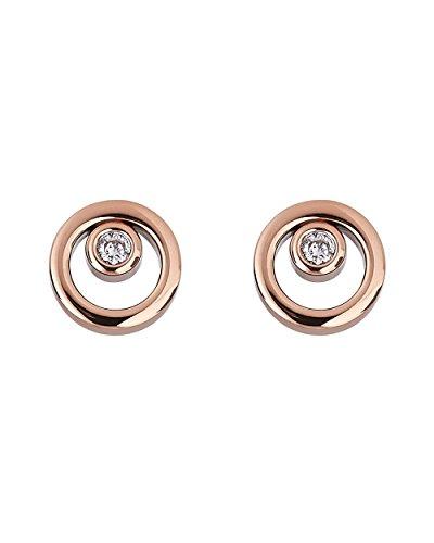 Skagen Damen-Ohrringe SKJ0853791, roségold