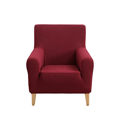 FKRAINSAN Funda de sofá Espesa Impermeable, Cubierta de sofá de Alto Nivel Todo Incluido, diseño de sofá de diseño de Rejilla para Perros para Mascotas Gato,E