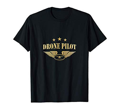 Drone Pilot Drohne fliegen T-Shirt