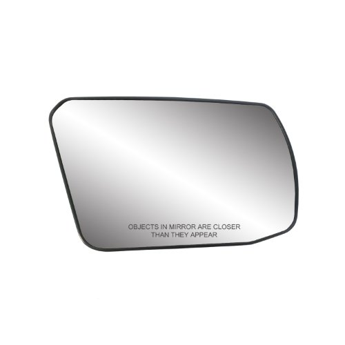 """Fit System 80214 Passenger Side Non-Heated Mirror Glass w/Backing Plate, Nissan Altima Coupe, Altima Hybrid, Altima Sedan, Non-Foldaway Mirror, 4 7/16"""" x 6 3/4"""" x 7 3/4"""""""