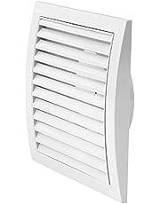 COLOR Ventilatierooster Ø mm met flens afsluitrooster insectenbescherming ABS-kunststof rooster