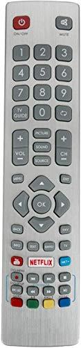 ALLIMITY SHW RMC 0115 SHWRMC0115 Telecomando Sostituito per Sharp Aquos 3D HD Smart TV with Netflix Youtube NET+
