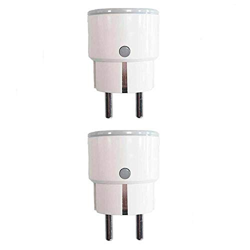 7hSevenOn Home Pack 2 Enchufes Inteligentes WiFi Compacto Control...