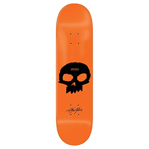 """Zero Signature Skull Cole Skateboard Deck - 8.50"""""""