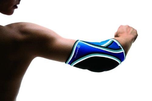 Rehband Damen Ellenbogenschoner 7721 Handball, blau, L, Ellenbogenschutz Handball Damen_3