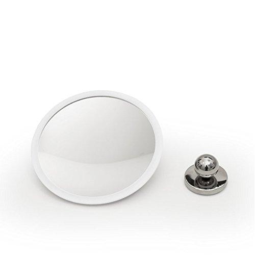 bosign AirMirrir Plus Wand-Kosmetikspiegel 10-Fach ø 16,5 x 3 cm - weiß