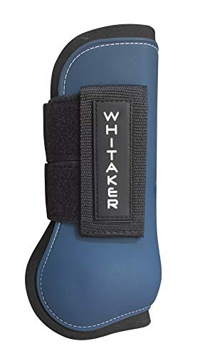 John Whitaker Tendon and Fetlock Set COB - Herradura/Protector para Caballo, Color Azul