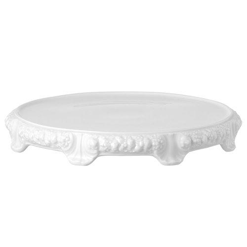 Rosenthal 10430-800001-12845 Maria Tortenplatte mit Fuß 31 cm, weiß