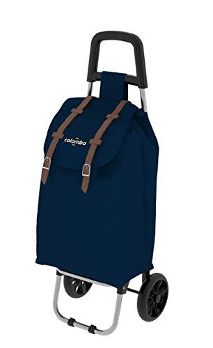 Colombo Carro de la compra azul bolsa 40 litros