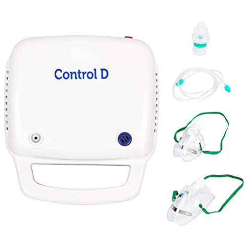 Control D Blue & White Compressor Complete Kit Nebulizer
