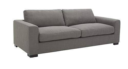 Amazon Brand - Stone & Beam Westview Extra-Deep Down-Filled Sofa Couch, 89'W, Smoke
