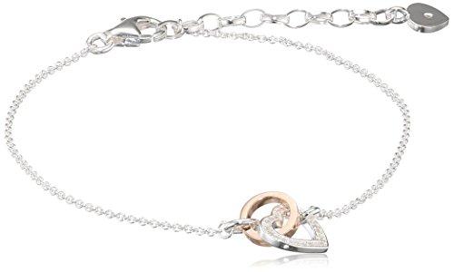 Thomas Sabo Women Silver Charm Bracelet - D_A0032-095-14-L19v