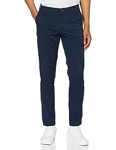 JACK & JONES Jjimarco Jjbowie Sa Noos Pantaloni, Blu (Navy Blazer Navy Blazer), W30/L30 (Taglia Produttore: 30) Uomo