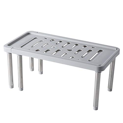 QWERTB Instelbare wandkast-organisator opslag plank voor keukenruimtebesparend kastrek kast kast kast kast kast kast kast kast houder Home Storage Organizer