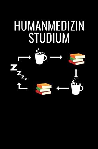 Humanmedizin Studium: Notizbuch Mit 108 Linierten Seiten