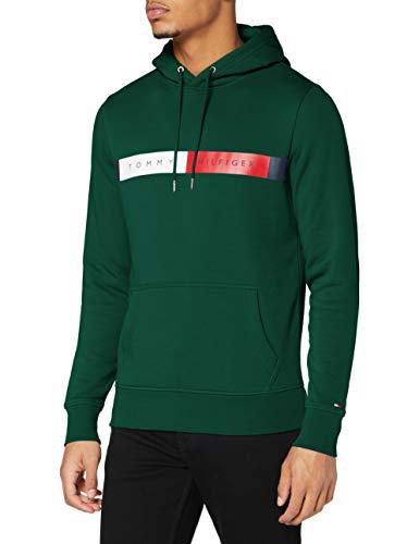Tommy Hilfiger RWB Logo Hoody Suéter, Terrain, S para Hombre