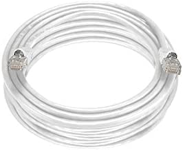 100 FT (100ft) CAT6 XBOX 360 Elite , PS3 Cable, RJ45 Ethernet Snagless Molded White