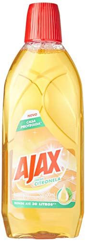 Limpador Diluivel Ajax Fresh Citronela 500Ml, Ajax, 500Ml