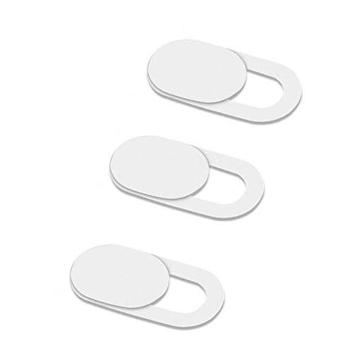 Privacy Camera Cover Security Blocker Webcam Closure White Compatible with Alcatel 1x Evolve - Alcatel 3V (2019) - Alcatel 7 - Alcatel Avalon V - Alcatel Jitterbug Smart 2