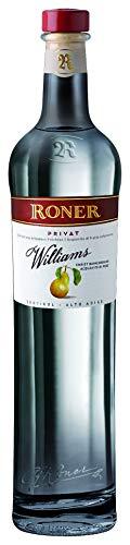 Roner Privat Pera Williams astucciato (1x 0,5l) - Acquavite di Pera Williams di prima scelta Distilleria Artigianale Alto Adige Südtirol piu premiata d'Italia - 500 ml