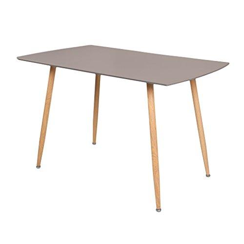 Zons Stockholm Table Salle À Manger L120xl70xH75cm Taupe