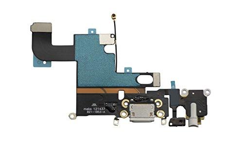 DonkeyEmma Cable Flexible para Conector de Carga USB para iPhone 6 DE 4,7 Pulgadas, Color Blanco