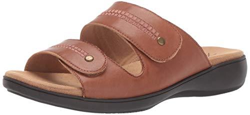 Trotters Women's VALE Sandal, Luggage, 9.5 W US