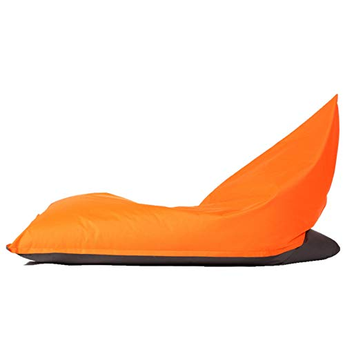 BAIL BAZAAR Silla de bolso de frijol con paneles con paneles de bazar, bolsas de frijoles resistentes al aire libre for exteriores Bolsa de frijol para exteriores ( Color : Yellow , Size : One size )