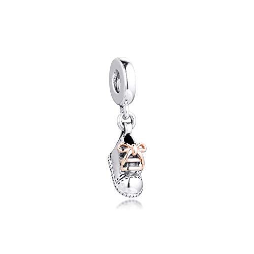 Baby Shoe Charms 925 Original Fit Pandora Bracelet Sterling Silver Beads For Jewelry Making Diy Kralen