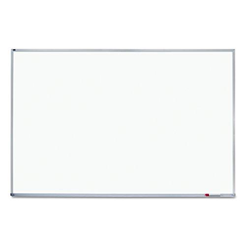 Quartet Whiteboard, Non-Magnetic Dry Erase White Board, 4' x 6', Aluminum Frame (EMA406)