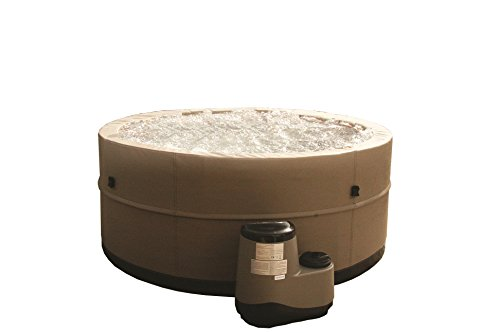 Canadian Spa Company CSCHTSC29 5-Person Swift Current Foam Spa, Tan/Black