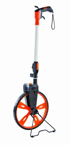 Keson RRT12 Top Reading Center Line Measuring Wheel with Handle Brake and Reset (Graduations: ft. & in.), 3-Foot