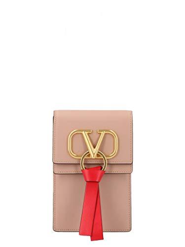 Luxury Fashion | Valentino Garavani Dames SW0P0S81WUUGF9 Roze Leer Handtasjes | Herfst-winter 19
