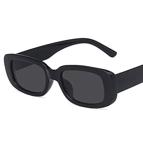 IYUNDUN Gafas De Sol Rectangulares para Mujer, Gafas De Sol Retro De Moda con Protección UV400, Gafas De Montura Cuadrada, para Conducir, Montar En Bicicleta, Golf, Pescar, Correr, Navegar, Esquiar