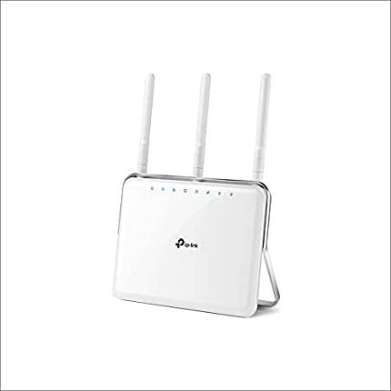 TP-Link Archer C9 - Gaming router Gigabit inalámbrico, banda dual 1900 Mbps, MIMO 3T x 3R, USB 3.0, WPS, tres antenas