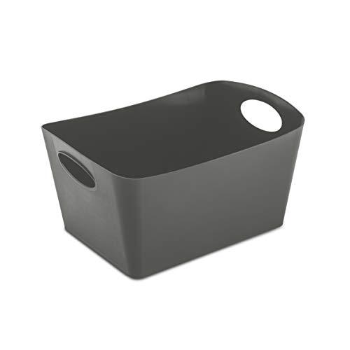 Koziol BOXXX M Contenitore da 3,5 l, Grigio Scuro, m