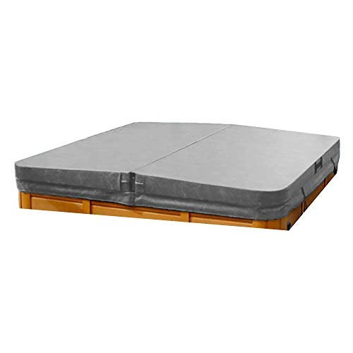 The Cover Guy Deluxe Hot Tub Cover for Jacuzzi Shipping Included - Custom Made - 5 Inch Thick - Lightweight, Durable, Energy Saving - Built for All Climates