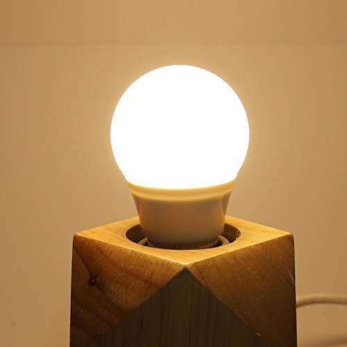Interruptor LED inteligente con regulador de intensidad, interruptor inteligente y robusto, interruptor de temporizador ajustable para bombillas (blanco, trasl)