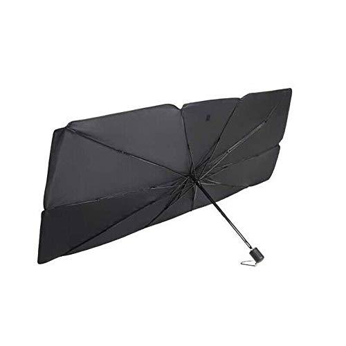 Chutoral Parasol para parabrisas de coche, parasol delantero, protector UV para coche, plegable, parasol delantero, para mantener el vehículo fresco, 0, Pequeño.