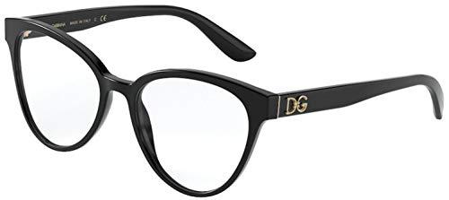 Dolce & Gabbana Brille für Vista DG3320 501-rahmen größe 53 mm brille