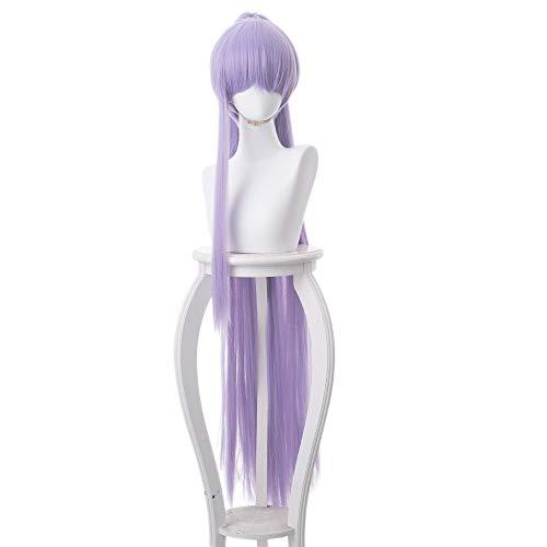 RedJade FGO/Fate/Grand Order Matou Sakura Meltlilith/Meltryllis Alterego S Wig Cosplay Parrucca per Costume Viola