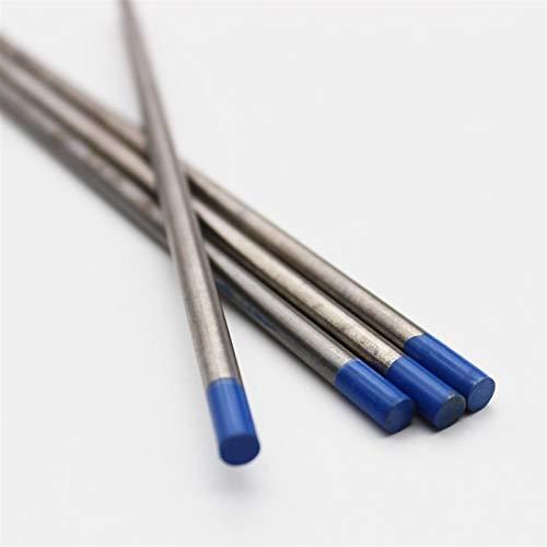 Verakee Ztengyu-Varillas para soldar 1pc de electrodos de tungsteno Barras de Soldadura, 1,0 mm a 6,4 mm, Punta Azul de Baja Temperatura de Soldador de Soldador de lantero, Rendimiento Estable