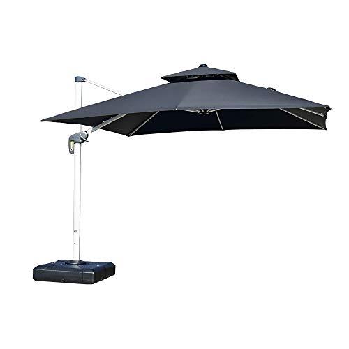 PURPLE LEAF cantilever patio umbrellar