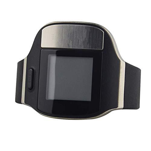 CRFYJ Perseguidor del Reloj Impermeable GPS Rastreador Personal Locator MT80 Inteligente con Monitorización del ECG de Ritmo cardíaco for los Pacientes de Alzheimer