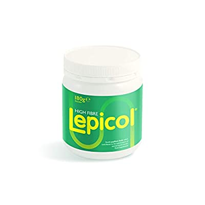 Lepicol Original 3in1 Formulation – Contains Psyllium Husk, Inulin and 5 Strains of Live Bacteria – 180g Powder